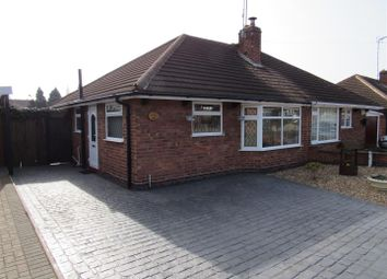 Thumbnail 2 bed semi-detached bungalow for sale in Rutland Drive, Thurmaston, Leicester