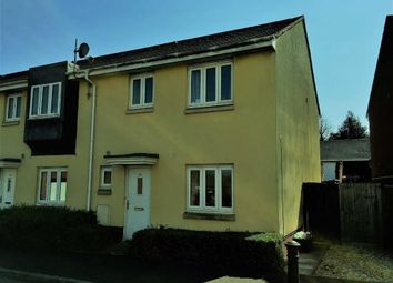 Thumbnail 3 bed end terrace house for sale in Oakfields, Tiverton, Devon