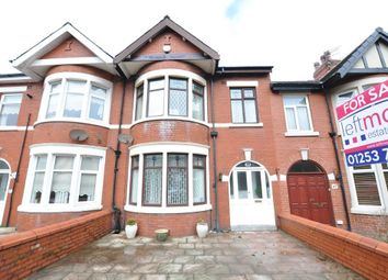 Thumbnail 3 bed terraced house for sale in Leamington Road, Blackpool, Lancashire