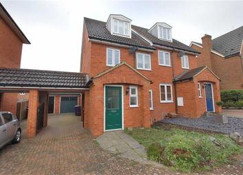 Thumbnail 3 bedroom semi-detached house to rent in Great Ashby Way, Stevenage, Hertfordshire