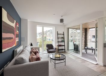 Thumbnail 1 bed flat for sale in Trathen Square, London