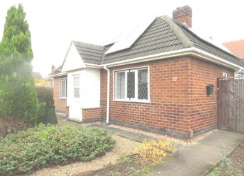 Thumbnail 2 bed detached bungalow for sale in Garden Road, Hucknall, Nottingham
