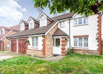 Thumbnail 5 bed detached house for sale in Arundel Avenue, Ewell, Epsom