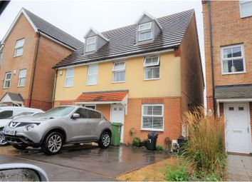 Thumbnail 3 bedroom semi-detached house for sale in East Shore Way, Portsmouth