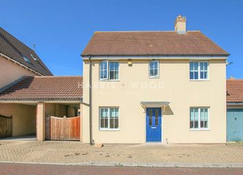 Thumbnail 3 bed detached house to rent in John Hammond Close, Colchester