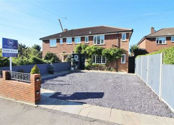 Thumbnail 4 bed semi-detached house for sale in Cowley Hill, Borehamwood, Herts