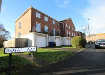 Thumbnail 4 bedroom terraced house for sale in Royal Way, Stoke-On-Trent