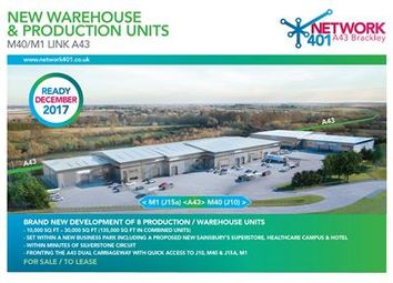 Thumbnail Light industrial to let in Network 401, Brackley, M40/M1 Link, Northamptonshire