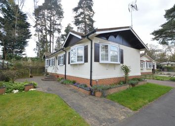 Thumbnail 2 bed mobile/park home for sale in California Country Park Homes, Finchampstead