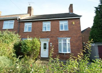 Thumbnail 3 bed terraced house for sale in Park Avenue, Blidworth, Mansfield