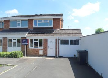 Thumbnail 2 bedroom semi-detached house for sale in Hill Close, Pershore, Worcestershire