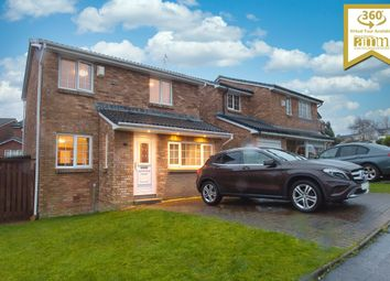 Thumbnail 3 bed detached house for sale in Fulbar Crescent, Paisley