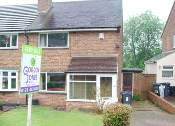 Thumbnail 2 bed semi-detached house for sale in Shepley Road, Rednal