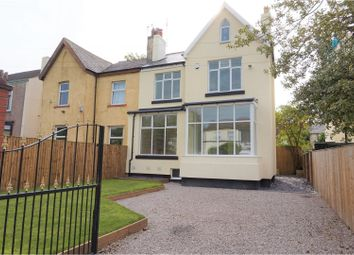 Thumbnail 4 bedroom semi-detached house for sale in Church Road, Liverpool