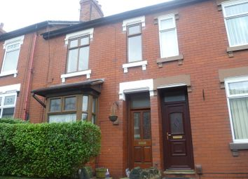 Thumbnail 2 bed terraced house to rent in Well Street, Biddulph, Staffordshire