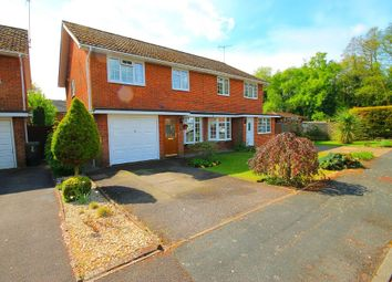 Thumbnail 3 bed semi-detached house for sale in Gloucester Close, Frimley Green, Camberley