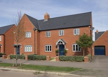 Thumbnail 3 bed semi-detached house for sale in Southfield Court, Churchill Way, Brackley
