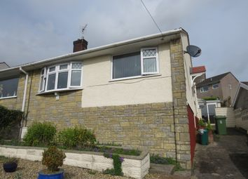 Thumbnail 2 bed semi-detached bungalow for sale in Tredegar Close, Llanharan, Pontyclun