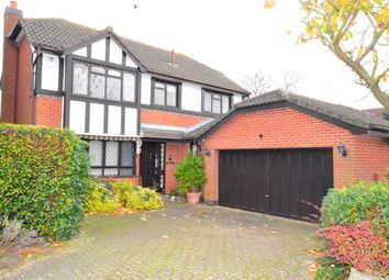 Thumbnail 4 bed detached house for sale in Greenway, Kibworth Beauchamp, Leicester