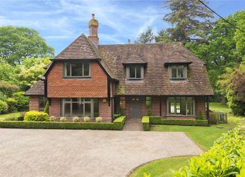 Thumbnail 5 bed detached house to rent in Redhill Road, Cobham, Surrey