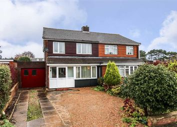 Thumbnail 3 bed semi-detached house for sale in Roche Gardens, Bletchley, Milton Keynes, Buckinghamshire