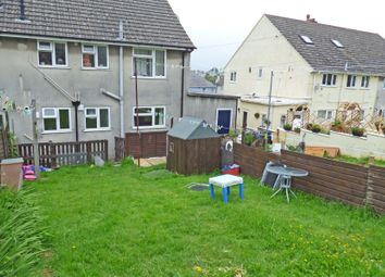 Thumbnail 2 bed flat to rent in Orchard Crescent, Oreston, Plymstock, Devon