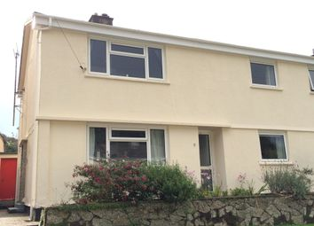 Thumbnail 1 bed flat to rent in Ferndale Road, Falmouth