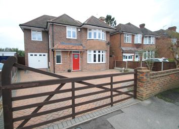 Thumbnail 4 bed detached house for sale in Manor Drive, Aylesbury