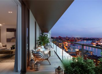 Thumbnail 2 bed flat for sale in Coda, 198 York Road, London