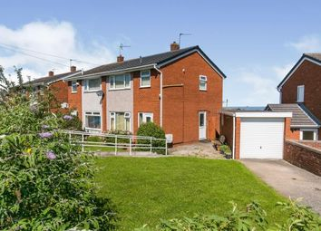 Thumbnail 3 bed semi-detached house for sale in Fron Las, Holywell, Flintshire