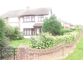 Thumbnail 3 bed detached house to rent in Wood Lane, Elm Park, Essex