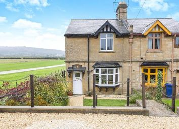 Thumbnail 3 bed semi-detached house for sale in Station Cottages, Toddington, Cheltenham, Gloucestershire