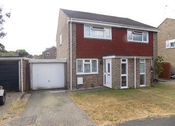 Thumbnail 2 bed semi-detached house for sale in Cumberland Way, Hythe