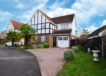 Thumbnail 4 bed detached house for sale in Orchard Close, West Ewell, Epsom