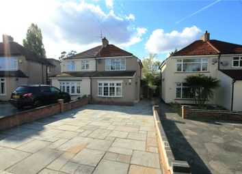 Thumbnail 3 bed semi-detached house for sale in Wyncham Avenue, Sidcup, Kent