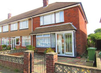 Thumbnail 3 bed end terrace house for sale in Lower Drayton Lane, Portsmouth, Hampshire