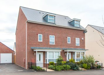 Thumbnail 4 bed town house for sale in Clayhill Drive, Yate, Bristol