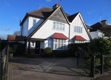 Thumbnail 3 bed semi-detached house to rent in Bridgewater Drive, Westcliff On Sea, Essex.
