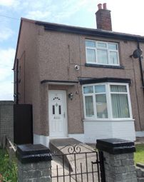 Thumbnail 2 bedroom semi-detached house for sale in Meredith Crescent, Rhyl