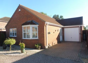 Thumbnail 2 bed detached bungalow for sale in Horseshoe Court, Outwell, Wisbech