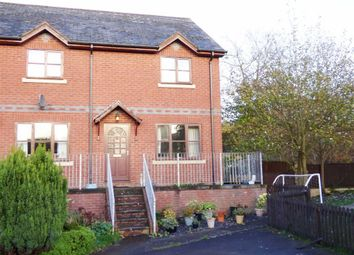 Thumbnail 2 bed end terrace house for sale in Llys Cain, Bridge Street, Llanfyllin