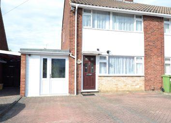 Thumbnail 3 bed semi-detached house for sale in Ridgemount Close, Brockworth, Gloucester