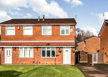 Thumbnail 2 bed semi-detached house to rent in Carswell Close, Tyldesley, Manchester