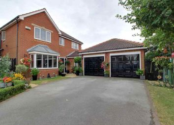 Thumbnail 4 bed detached house for sale in Arnold Close, Laceby, Grimsby