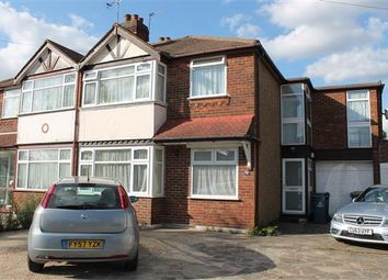 Thumbnail 5 bedroom semi-detached house to rent in Morley Crescent East, Stanmore