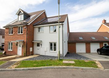 Thumbnail 3 bed semi-detached house for sale in Dragons Way, Church Crookham, Fleet