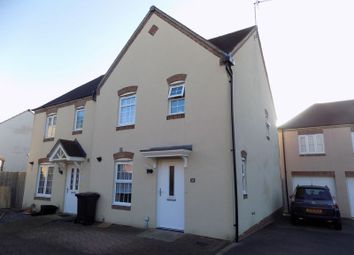 Thumbnail 3 bed semi-detached house for sale in Havisham Drive, Swindon