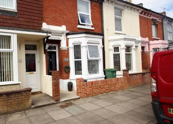 Thumbnail 3 bedroom terraced house for sale in Vernon Road, Copnor, Portsmouth
