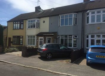 Thumbnail 3 bed terraced house to rent in Harwood Avenue, Hornchurch