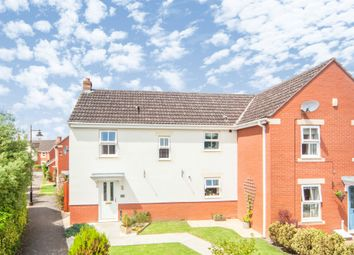 Thumbnail 3 bedroom semi-detached house for sale in Burge Crescent, Cotford St. Luke, Taunton